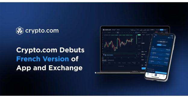 Crypto.com Debut App dan Exchange Versi Prancis