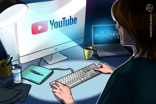 YouTube menghentikan streaming langsung crypto lainnya