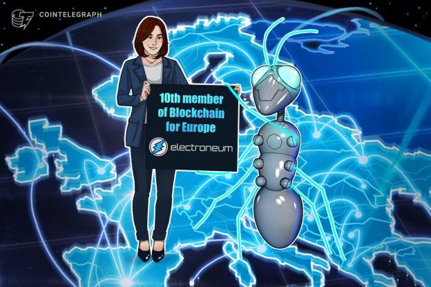Jaringan pembayaran kripto menjadi anggota ke-10 Blockchain untuk Eropa