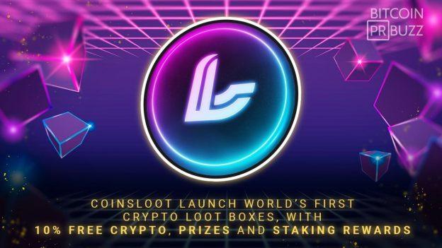 CoinsLoot Luncurkan Kotak Jarahan Crypto Pertama di Dunia, Dengan 10% Crypto Gratis, Hadiah dan Staking Rewards