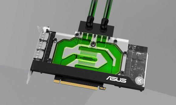 Penambangan Ethereum (ETH) Dengan GPU ASUS EKWB GeForce RTX 3090 Berpendingin Air