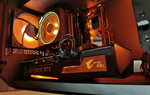 Gigabyte AORUS GeForce RTX 3060 Ti MASTER untuk Menambang Ethereum