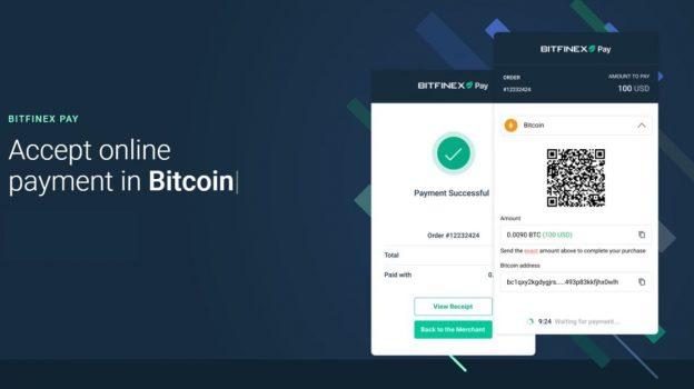 Bitfinex meluncurkan sistem untuk pembayaran kripto tanpa kontak