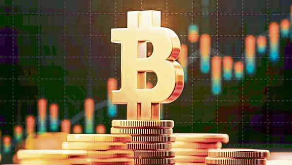 The world's biggest cryptocurrency had hit a record high of $58,640 on 21 February. (Photo: iStock)