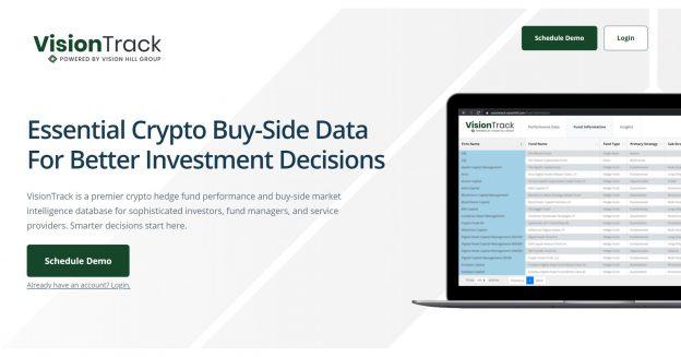 Vision Hill Group meluncurkan VisionTrack untuk membantu investor institusi menavigasi sisi pembelian crypto