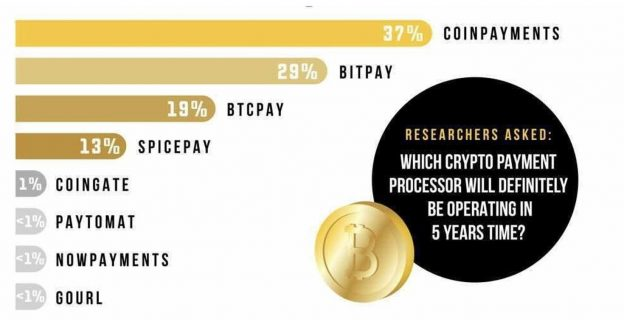 CoinPayments Ditetapkan untuk Tetap Memimpin Prosesor Pembayaran Crypto Menemukan Survei D-Core