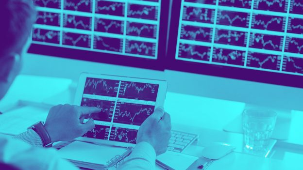 Volume pertukaran crypto bulan Februari mencapai hampir setengah volume di pasar saham NYSE Group