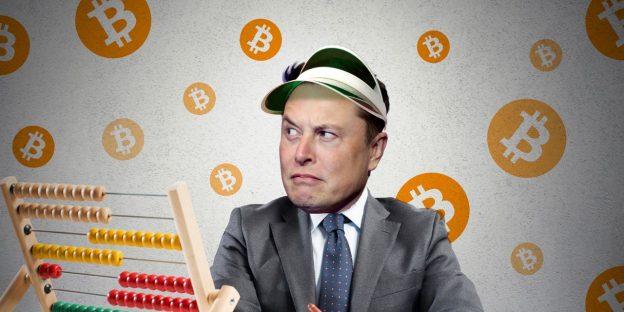 Musk mengatakan Tesla menjual sekitar 10% bitcoin untuk menguji pasar, dan akan 'melanjutkan memungkinkan transaksi kripto' ketika 50% penambang berwarna hijau