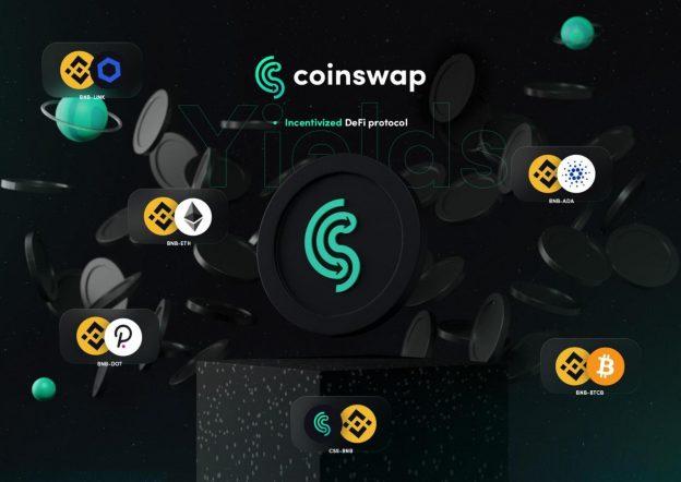 CoinSwap Space Menambahkan Staking Pools Dengan ADA Rewards