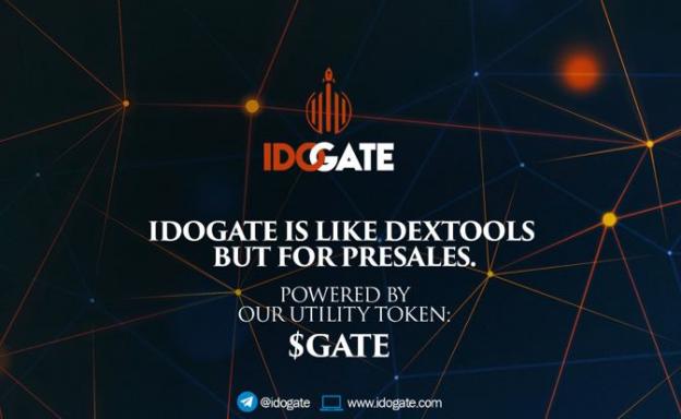 IDOGATE – Temukan Permata Crypto Berikutnya Di IDO & Pra-Penjualan