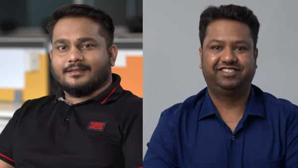 Left: Sharan Nair, chief business officer, CoinSwitch Kuber. Right: Ashish Singhal, co-founder & CEO, CoinSwitch Kuber.